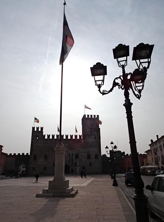 Marostica Hauptplatz