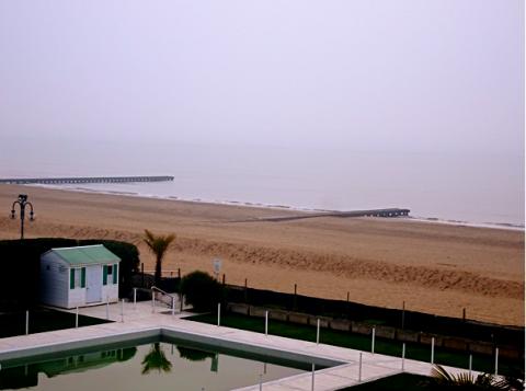 Lido di Jesolo Strand im Winter