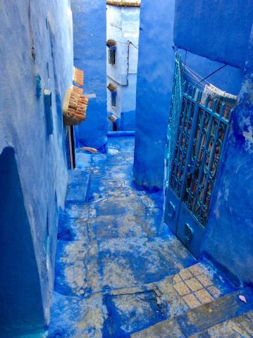 Medina von Chefchaouen, die blaue Stadt