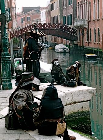 Die Lagoon Pirates beim Karneval von Venedig 2020