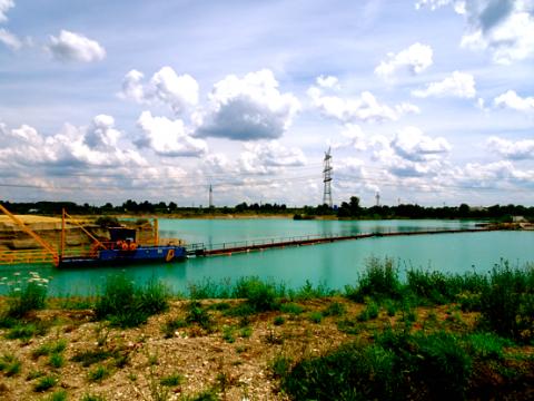 Kiesgrube bei den Langwieder Seen
