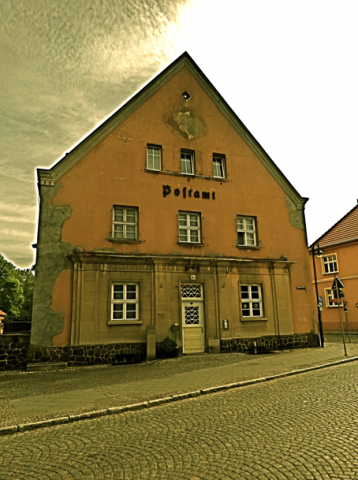 Postamt Fürstenberg an der Havel