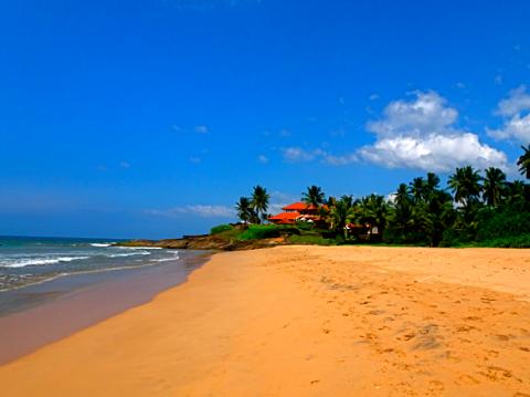 Strand von Bentota