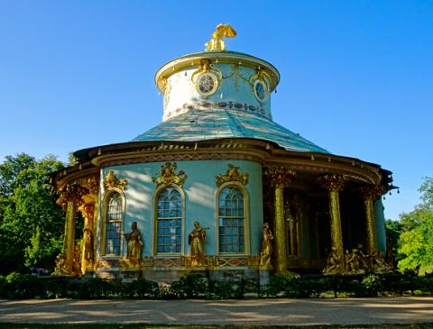 Chinesischer Pavillon im Park Sanssouci