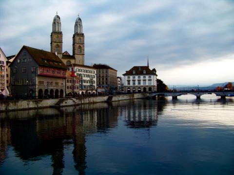Zürich Stadtansicht