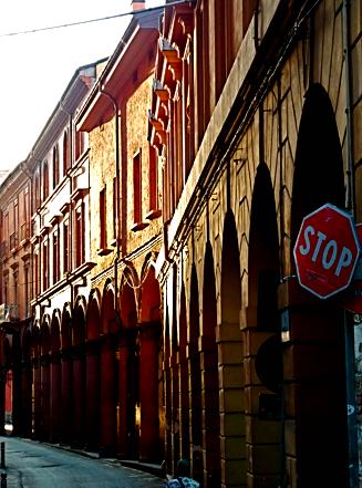 Arkaden von Bologna