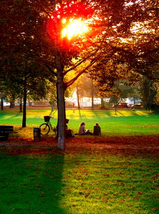 Luitpoldpark in Schwabing