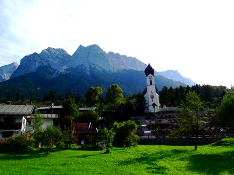 Grainau, Unterer Dorfplatz