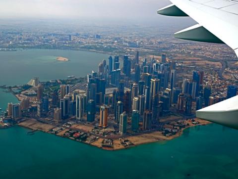 Doha von oben