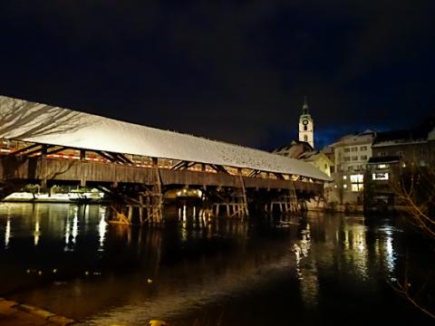 Alte Aarebrücke von Olten