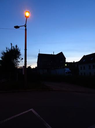 Nordstraße in Arnstadt (unser Quartier)