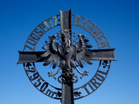 Zugspitze Gipfelkreuz Österreich
