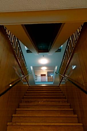 Treppenhaus im Hotel Weisser Hase Passau