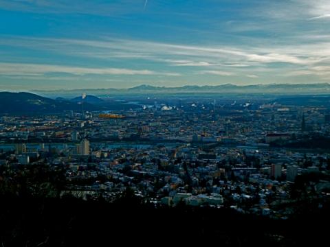 Aussicht auf Linz