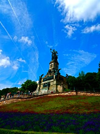 Niederwalddenkmal Germania bei Rüdesheim