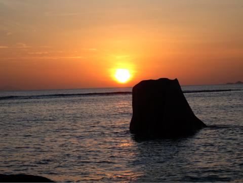 Am Anse Source d'Argent auf La Digue