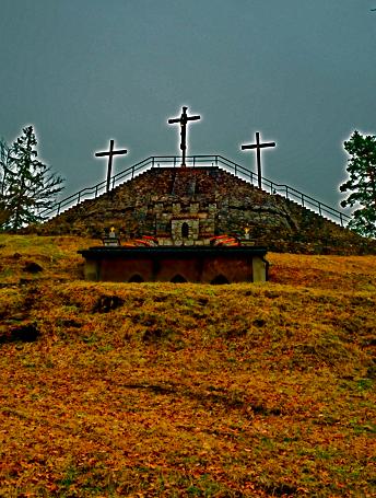 Der Gipfel vom Füssener Kalvarienberg
