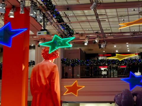 Weihnachtsschmuck im KaDeWe Berlin