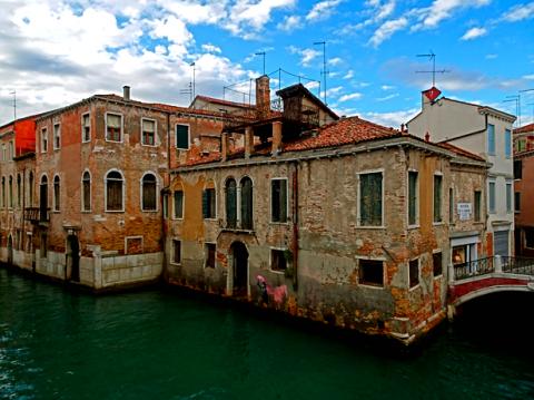 In den Abseitskanälen von Venedig