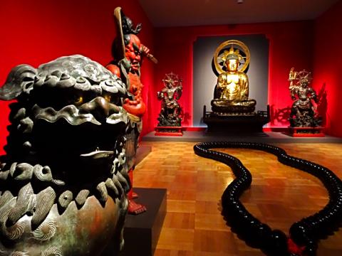 Myanmar-Abteilung im Museum Fünf Kontinente