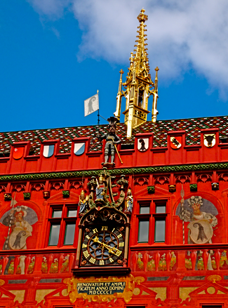 Rathaus Basel Front