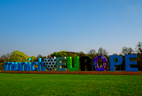 Munich loves Europe - im Olympiapark