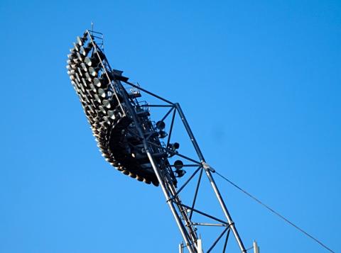 Licht mast vom Olympiastadion München