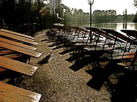Biergarten am Kleinhesseloher See