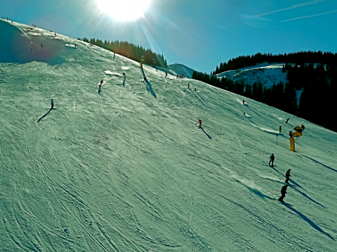 Skifahren in Elmau am Wilden Kaiser