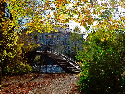 Brücke über die Würm bei Planegg