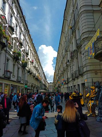 Turin Via Garibaldi
