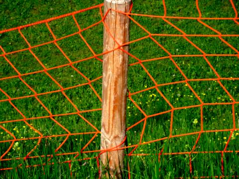Zaun beim Olympiapark