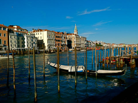 Venedig am Canale Grande