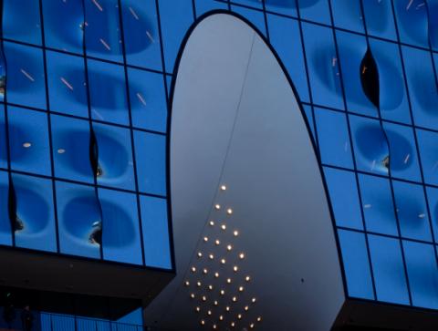 Detailansicht Elbphilharmonie