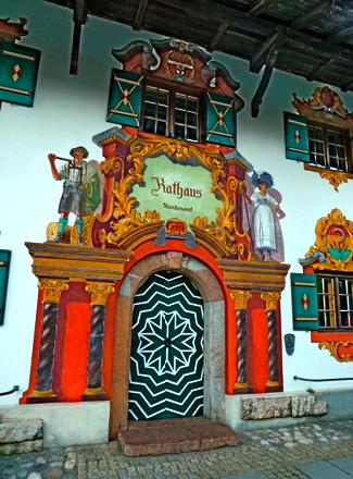 Ruhpolding Rathaus
