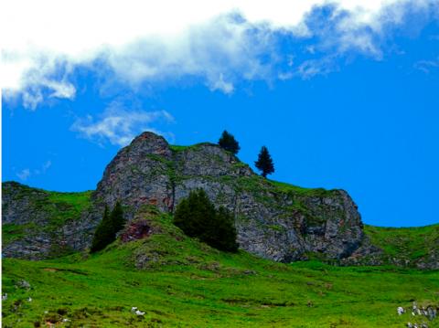 Felsen neben der Rotwand