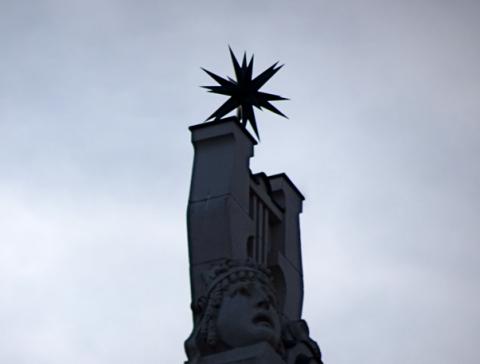Auf dem Dach vom Prinzregententheater