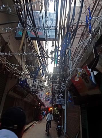 Gassen von Alt Delhi