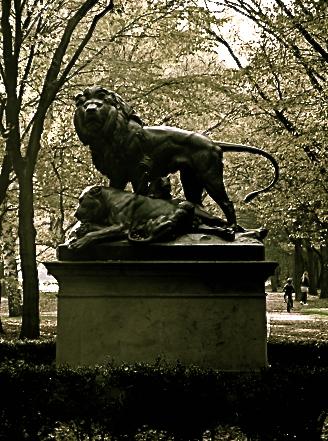 Im Tiergarten Berlin