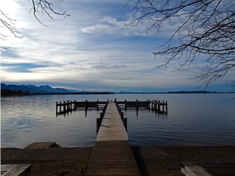 In Übersse am Chiemsee