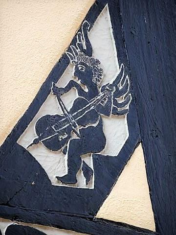 Fachwerkfassade in der Eschweger Altstadt