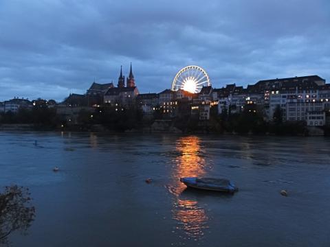Basel Rheinufer