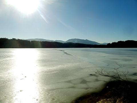 Vereister Staffelsee