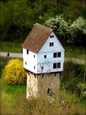 Bei Rothenburg ob der Tauber