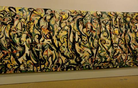 Jackson Pollock, Mural