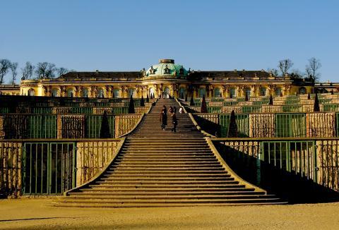 Potsdam Schloss Sanssouci