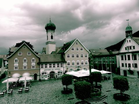 Immenstadt Marktplatz