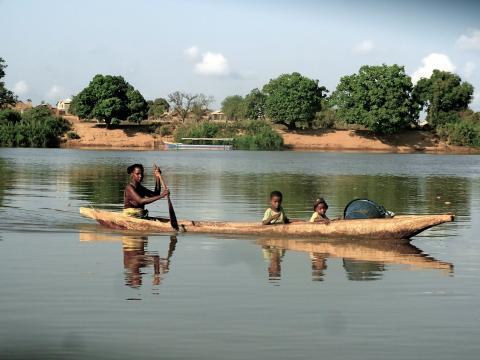 Für zweieinhalb Tage auf dem Tsiribihina River.