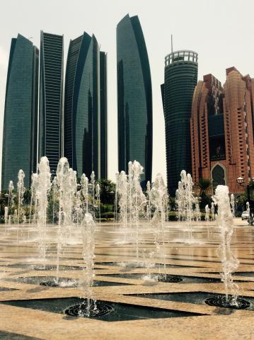Skyline Abu Dhabi