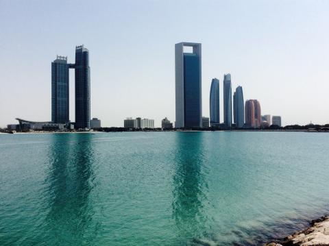 Abu Dhabi Silhouette